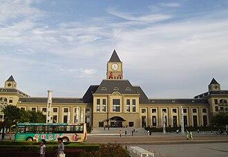 Jinzhou District - Jinzhou train station
