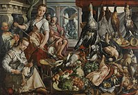 Joachim Bueckelaer - De welvoorziene keuken - SK-A-1451 - Rijksmuseum.jpg