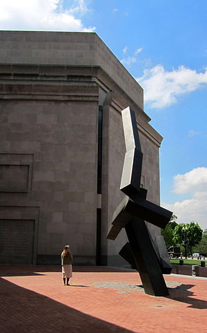 Joel Shapiro - Loss and Regeneration, 1993, United States Holocaust Memorial Museum in Washington, D.C.