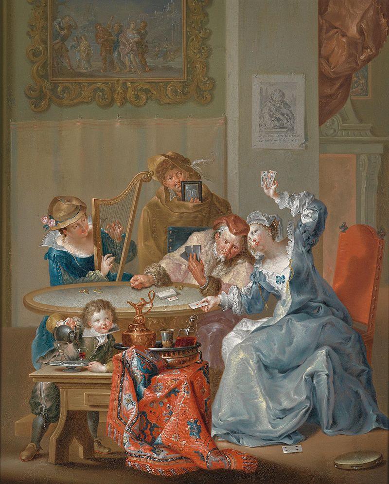 Johann Georg Platzer - Das Kartenspiel.jpg