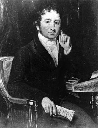 John Bigge - Portrait of John Thomas Bigge