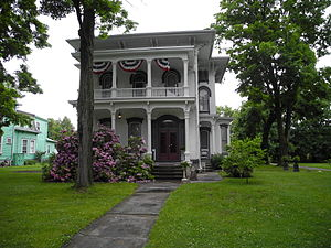 National Register of Historic Places listings in Chemung County, New York - Image: John Brand Sr House, Elmira NY