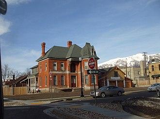National Register of Historic Places listings in Davis County, Utah - Image: John G Barnes House Kaysville Utah