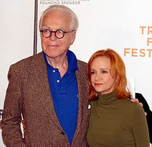 John Guare and Kurtz at the 2009 Tribeca Film Festival.