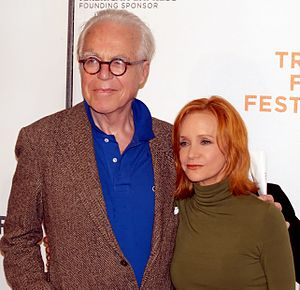 Swoosie Kurtz - John Guare and Kurtz at the 2009 Tribeca Film Festival.