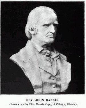 John Rankin (abolitionist) - Rev. John Rankin