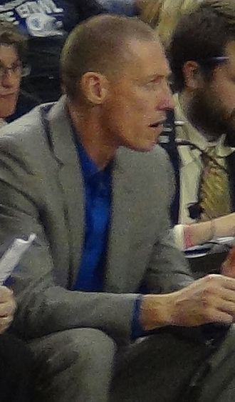 John Rillie - Rillie in 2017 as Boise State assistant coach.