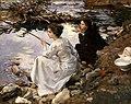 John Singer Sargent - Two Girls Fishing.jpg