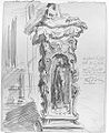 John Singer Sargent Sketch of the Base of Cellini's Perseus.jpg