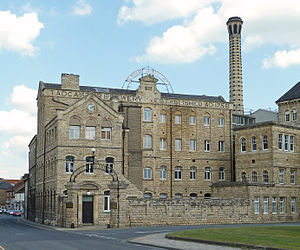 John Smith's Brewery - William Smith's 1884 brewery, Tadcaster