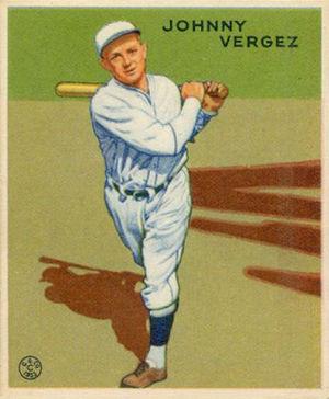 Johnny Vergez - Image: Johnny Vergez Goudeycard