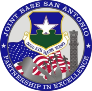 Joint Base San Antonio - Image: Joint Base San Antonio Emblem