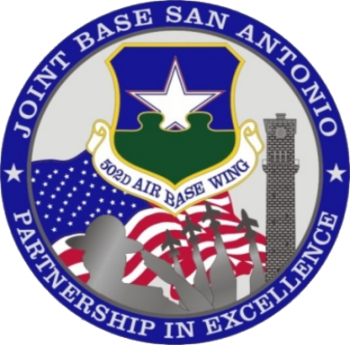 English: Emblem of Joint Base San Antonio