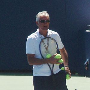 José Higueras - Image: Jose Higueras US Open