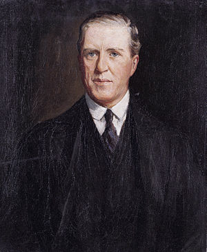 Joseph Watson, 1st Baron Manton - Joseph Watson, 1st Baron Manton, by John Lavery, 1922