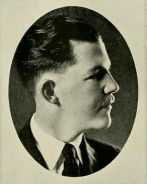 Joseph Wilson Ervin - Image: Joseph Wilson Ervin UNC 1921