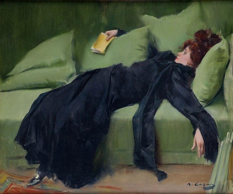 Jove Decadent by Ramon Casas i Carbó (1866-1932)