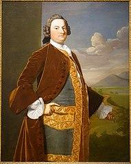 Judge Richard Saltonstall by Robert Feke