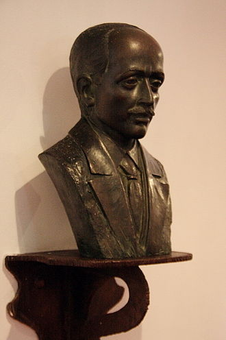 Josep Maria Jujol - Bust of Josep Maria Jujol at the Tarragona Theatre