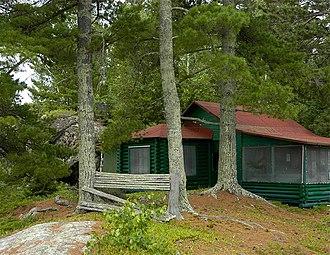 National Register of Historic Places listings in Voyageurs National Park - Image: Jun Fujita Cabin