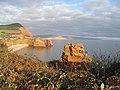 Jurassic Coast - Ladram Bay - geograph.org.uk - 638933.jpg