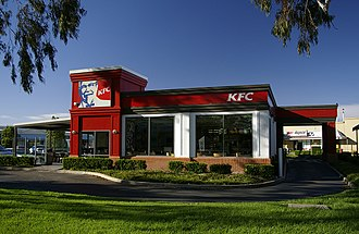 KFC - A stand-alone KFC drive-through unit located in Australia