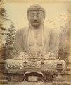 KITLV - 89895 - Beato, Felice - Buddha at Kamakura in Japan - presumably 1863-1865.tif