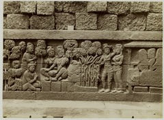 KITLV 28011 - Kassian Céphas - Relief of the hidden base of Borobudur - 1890-1891.tif