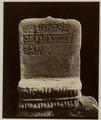 KITLV 28248 - Isidore van Kinsbergen - Padmasana (back) with inscriptions at the residency in Kediri - 1866-12-1867-01.tif