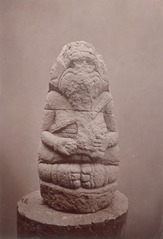 KITLV 87594 - Isidore van Kinsbergen - Sculpture of Ganesha - Before 1900.tif