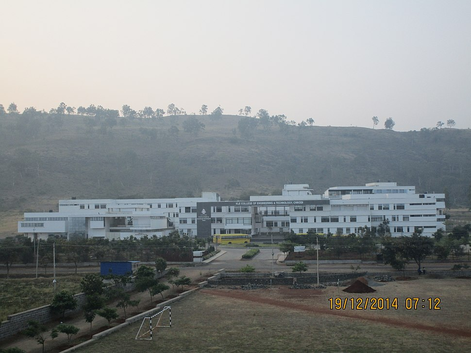 KLE CET College View