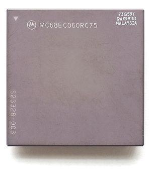 Motorola 68060 - A Motorola 68EC060 microprocessor