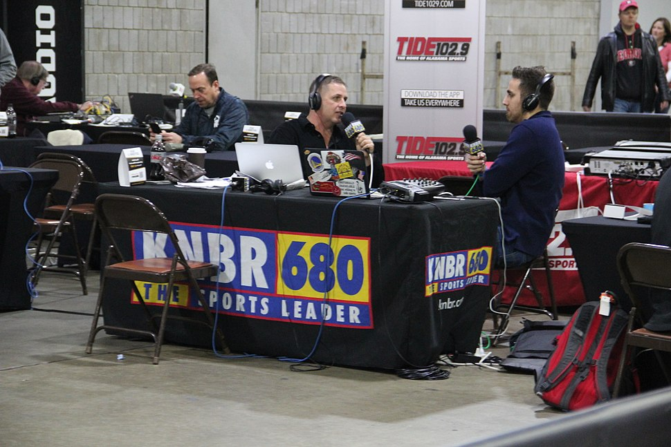KNBR at the College Football Playoff National Championship Playoff Fan Central, Jan 2018