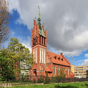 Church of the Holy Family, Kaliningrad - Image: Kaliningrad 05 2017 img 38 Church of the Holy Family