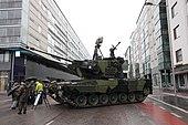 Kalustoesittely itsenäisyyspäivä 2015 13 Leopard 2 Marksman.JPG