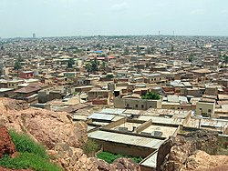 Panorama of Kano from Dala Hill