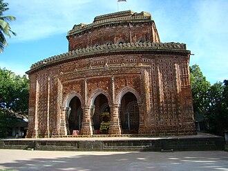 Hinduism in Bangladesh - Kantajew Temple in Dinajpur, Bangladesh