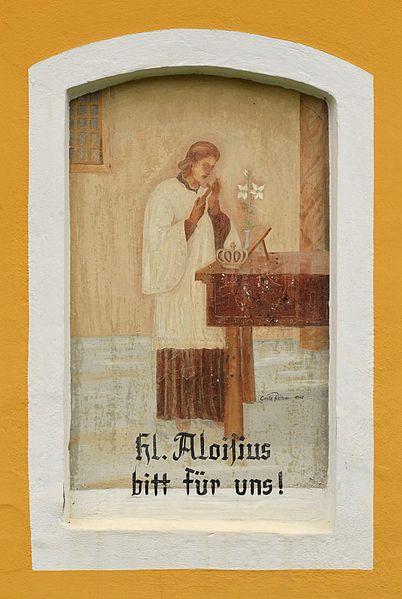 File:Kapellenbildstock Haslach - St. Aloisius.jpg