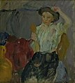 Karl Isakson - Lady with Hand Mirror - KMS4407 - Statens Museum for Kunst.jpg