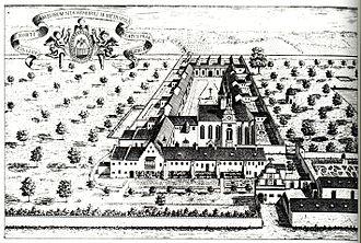 Engelgarten Charterhouse - View of the Würzburg Charterhouse.
