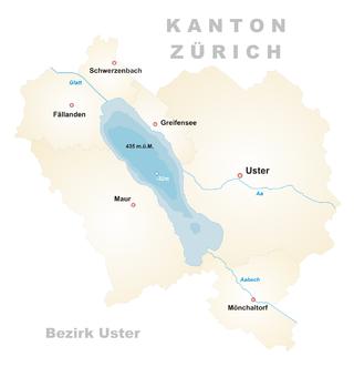 Karte Greifensee