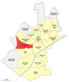 Karte Schweinfurt, Stadtteil 22 Musikerviertel.png