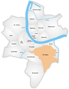 Map of Sankt Alban