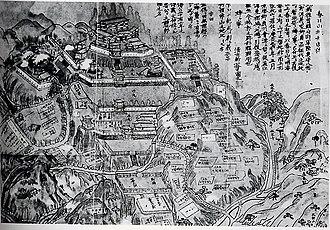 Uesugi Kenshin - Kasugayama Castle was Kenshin's primary fortress