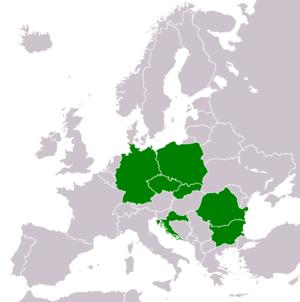 Kaufland - European countries in which Kaufland is active
