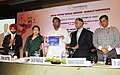 """Kavuru Sambasiva Rao releasing a report on cotton textile industry titled """"Cost Benchmarking Study – India vis-à–vis Bangladesh, Indonesia, Egypt, China, Pakistan and Turkey"""", in New Delhi on July 25, 2013.jpg"""