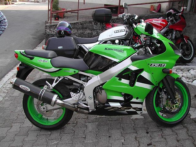 Kawasaki Zxr Turbo