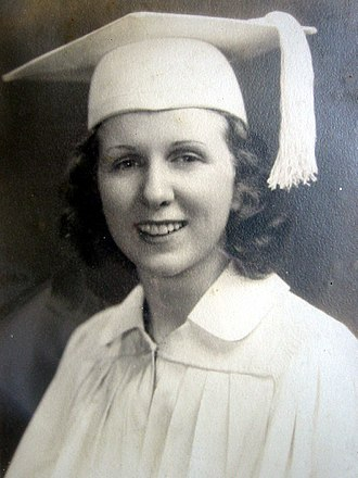 Kathleen Antonelli - Kay McNulty in her high school graduation portrait, 1938