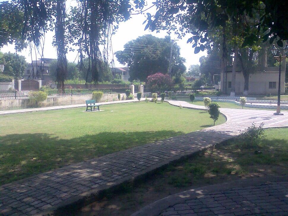 Kazim Kamal Park, Jhelum