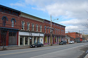 Chesterfield, New York - Village of Keeseville in Chesterfield